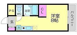 ダイゴハイツ[2階]の間取り