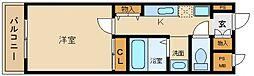 a la mode Hineno[2階]の間取り