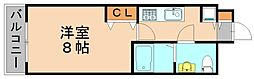 ピュアドームグランテージ博多[4階]の間取り