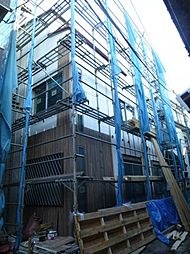 東京都墨田区東向島2丁目の賃貸アパートの外観