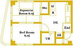 オノデラビル[2階]の間取り