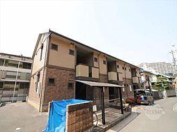 大阪府吹田市新芦屋上の賃貸アパートの外観