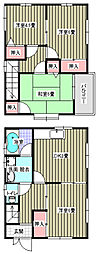 [一戸建] 広島県福山市東深津町3丁目 の賃貸【/】の間取り