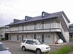 長野県飯田市鼎一色の賃貸アパートの外観