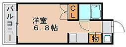 赤い風船ビル[3階]の間取り
