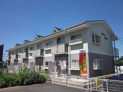 埼玉県春日部市牛島の賃貸アパートの外観