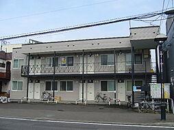 北海道札幌市南区川沿五条2丁目の賃貸アパートの外観