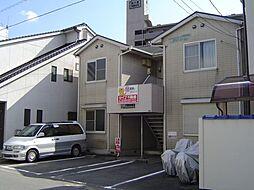 岡山県岡山市北区清輝橋3丁目の賃貸アパートの外観