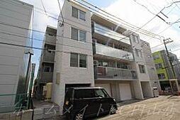 北海道札幌市中央区南四条西12の賃貸マンションの外観