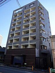 東京都港区白金2丁目の賃貸マンションの外観