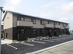 愛知県安城市安城町亀山下の賃貸アパートの外観