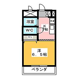 ガストホーフII[2階]の間取り