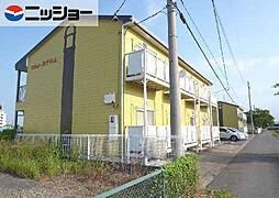 フラット矢戸川A・B棟[1階]の外観