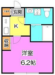 sorte石神井公園(ソルテ)[1階]の間取り