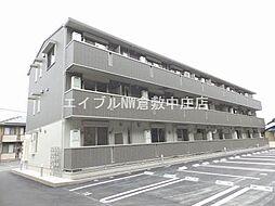岡山県倉敷市浦田の賃貸アパートの外観