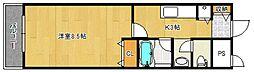 F・Gem[4階]の間取り