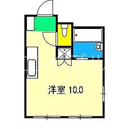 ミントハウス[1階]の間取り