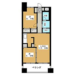 SK'BUILDING−1[3階]の間取り