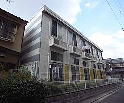 京都府京都市中京区西ノ京西月光町の賃貸アパートの外観