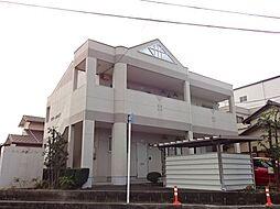愛知県一宮市開明字新田沼の賃貸アパートの外観