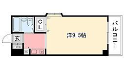 タケダビル95[502号室]の間取り