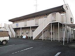 静岡県浜松市浜北区小松の賃貸アパートの外観