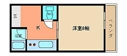 兵庫県神戸市垂水区潮見が丘2丁目の賃貸マンションの間取り