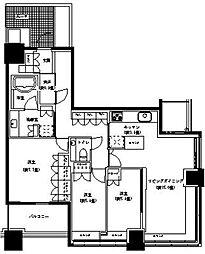 パークタワー横浜ステーションプレミア[32階]の間取り