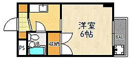 ロード[104号室]の間取り