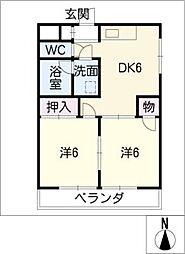 サニーヒル八事[3階]の間取り