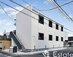 愛知県名古屋市南区西田町3丁目の賃貸アパートの外観