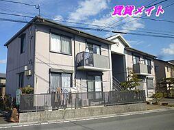 三重県四日市市小杉町の賃貸アパートの外観