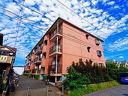 東京都東久留米市滝山1丁目の賃貸マンションの外観