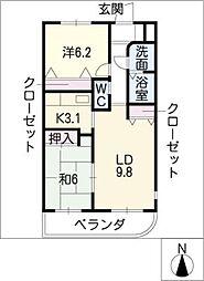 NOA[3階]の間取り