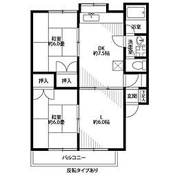 サンステージ斉藤II[2階]の間取り