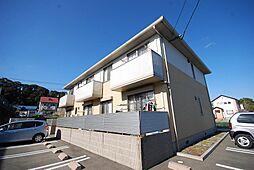 福岡県大野城市畑ケ坂2丁目の賃貸アパートの外観