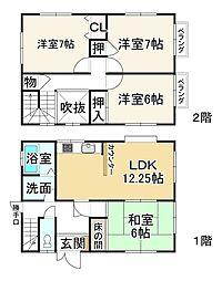 五箇荘駅 1,298万円