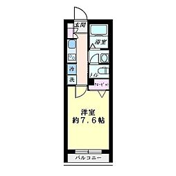 IP STAGE 東神奈川[0205号室]の間取り