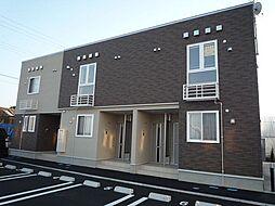 新潟県新潟市北区下早通の賃貸アパートの外観