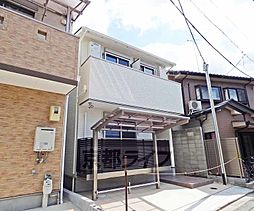 京都府京都市左京区田中大堰町の賃貸アパートの外観