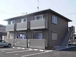 茨城県水戸市平須町の賃貸アパートの外観