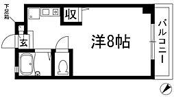 コマノマンション[2階]の間取り