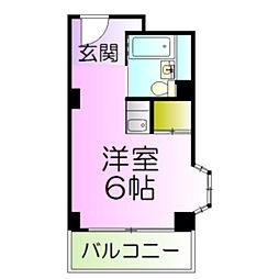 カイザ36[6階]の間取り