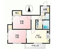 SAKUEI[2階]の間取り