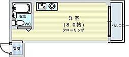 大国町駅 4.5万円