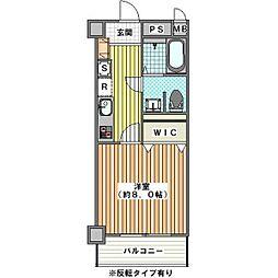 ウェスティンリゾート[1階]の間取り