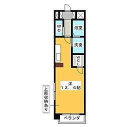 エクセラ桜山[7階]の間取り