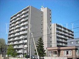 北海道札幌市中央区南十七条西15丁目の賃貸マンションの外観