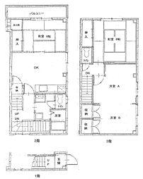 谷村マンション[201号室]の間取り