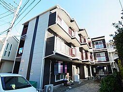 神奈川県相模原市中央区共和1丁目の賃貸アパートの外観